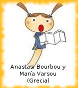 Anastasi Bourbou y María Varsou